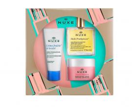 Nuxe Set Cream Fraiche de Beaute 48hr Moisturising Cream 30ml + Huile Prodigieuse Ξηρό Λάδι 50ml + Insta-Masque Μάσκα για Απολέπιση και Ομοιόμορφη Όψη 50ml