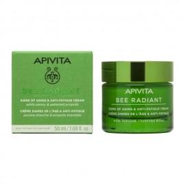 Apivita Bee Radiant Κρέμα για Σημάδια Γήρανσης & Ξεκούραστη Όψη Πλούσιας Υφής 50 ml
