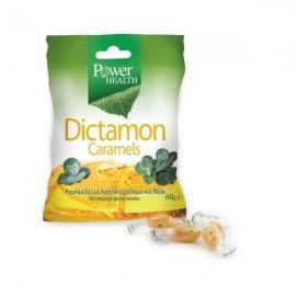 Power Health Dictamon Caramels, Καραμέλες για το Βήχα από Κρητικό Δίκταμο & Μέλι, 60 gr