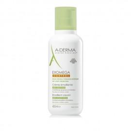 A-Derma Exomega Control Crème Emolliente Κρέμα για Ατοπικό Δέρμα, Σώμα/Πρόσωπο 400ml
