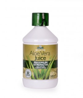 Optima Aloe Vera Juice Maximum Strength 500ml