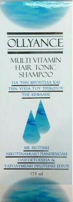 Olyderm Ollyance Multivitamin Hair Tonic Shampoo 175ml Πολυβιταμινούχο Σαμπουάν