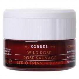 Korres Wild Rose Άγριο Τριαντάφυλλο Επανορθωτική Κρέμα Νύχτας Λάμψη & Πρώτες Ρυτίδες 40 ml