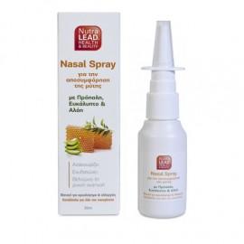 NutraLead Nasal Ισότονο Ρινικό Spray για την Αποσυμφόρηση της Μύτης 30ml