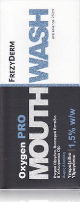 Frezyderm Oxygen Pro Mouthwash 1,5% w/w - Στοματικό Διάλυμα Με Ενεργό Οξυγόνο, 250ml