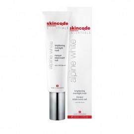 Skincode Alpine White Brightening Overnight Mask 50 ml