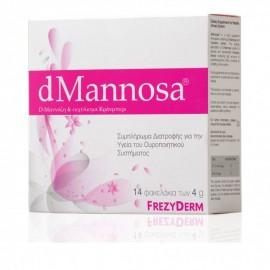 Frezyderm dMannosa D-Μαννόζη & Εκχύλισμα Κράνμπερι 14 φακελάκια x 4 g