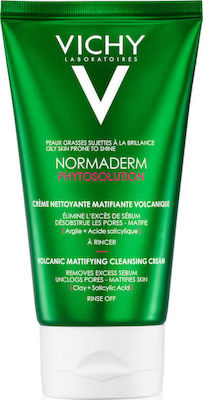 Vichy Normaderm Phytosolution Mattifying Cleansing Cream 125ml