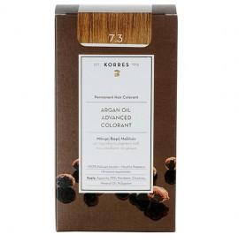 Korres Βαφή Argan Oil Advanced Colorant 7.3 Ξανθό Χρυσό/Μελί