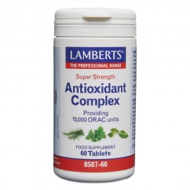 Lamberts Antioxidant Complex Συνδυασμός Φυτικών Αντιοξειδωτικών 60Tablets
