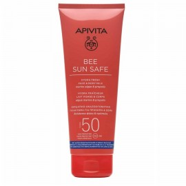 Apivita Bee Sun Safe Hydra Fresh Face & Body Milk Marine Algae & Propolis SPF50 200 ml