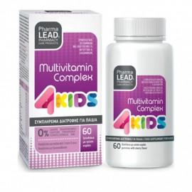 PharmaLead 4Kids Multivitamin Complex Κεράσι 60 μασώμενα ζελεδάκια
