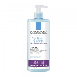 La Roche Posay Lipikar Surgras Καθαριστικό σε Υφή Κρέμας Κατά της Ξηρότητας - 750ml