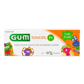 GUM Junior 7 - 12 ετών Παιδική Οδοντόκρεμα με γεύση Tutti-Frutti 50ml