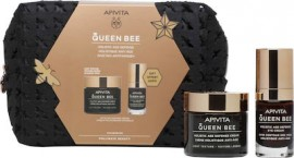 Apivita Queen Bee Kρέμα Ημέρας Ολιστικής Αντιγήρανσης Eλαφριάς Yφής με Βασιλικό Πολτό, 50ml & Κρέμα Ματιών Ολιστικής Αντιγήρανσης με Βασιλικό Πολτό, 15ml