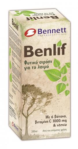 BENNETT BENLIF HERBAL SYRUP 200ML