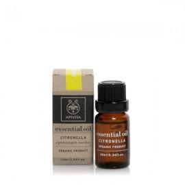 Apivita Essential Oil Citronella Αιθέριο Έλαιο Σιτρονέλα 10ml