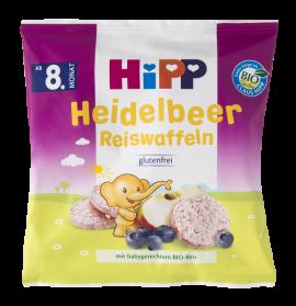 Hipp Βιολογικά Ρυζογκοφρετάκια Βατόμουρου 30 gr