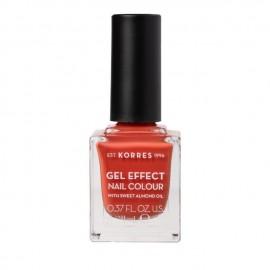 Korres Gel Effect Nail Colour 50 Pumpkin Spice 11 ml
