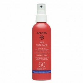 Apivita Bee Sun Safe Hydra Melting Ultra Light Face & Body Spray SPF50 200ml