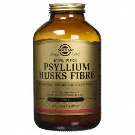 Solgar Psyllium Husks Fibre Caps 500mg, Συμπλήρωμα Διατροφής με Ψύλλιο 200 φυτικές κάψουλες