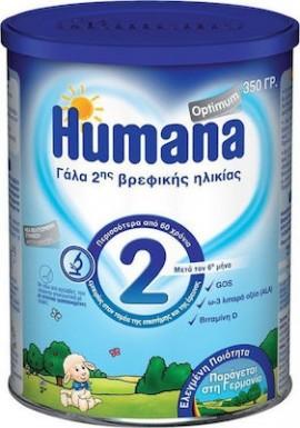 HUMANA 2 OPTIMUM MILK 350GR