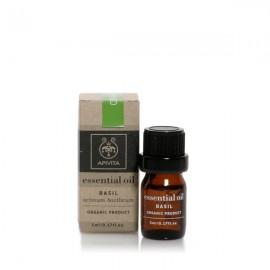 Apivita Essential Oil Basil Αιθέριο Ελαιο Βασιλικού 5ml