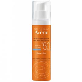 Avene Soins Solaires Fluide SPF50+ Λεπτόρρευστη Αντηλιακή Προσώπου για Κανονικό/Μικτό/Λιπαρό Δέρμα 50ml