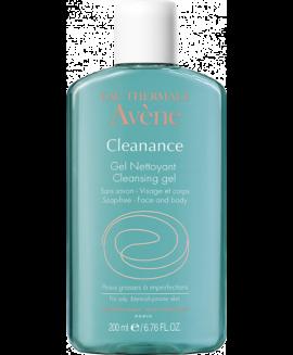 Avene Cleanance Gel Καθαρισμού Nettoyant, Καθαρισμός Προσώπου για Λιπαρά Δέρματα, 200ml