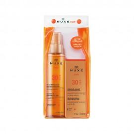 Nuxe Set Sun Tanning Oil SPF30 150ml & Nuxe Sun Face Cream SPF30 50ml