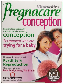 VITABIOTICS PREGNACARE CONCEPTION 30TABS