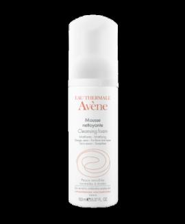 Avene Mousse Nettoyante Schiuma Detergente - Αφρός Καθαρισμού για Πρόσωπο και Μάτια 150ml