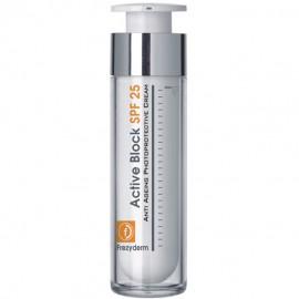 Frezyderm Active Block SPF25 - Αντιγηραντική Κρέμα Προσώπου Με Αντηλιακή Προστασία 50ml