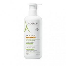 A-Derma Exomega Control Lait Emollient, Μαλακτικό Γαλάκτωμα για Ατοπικό-Ξηρό Δέρμα 400ml