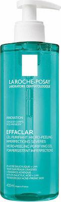 La Roche Posay Effaclar Micro-Peeling Purifying Gel Καθαρισμού Προσώπου 400ml