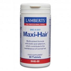 Lamberts Maxi Hair Φόρμουλα κατά της Τριχόπτωσης & Ενδυνάμωσης των Μαλλιών 60 Tablets