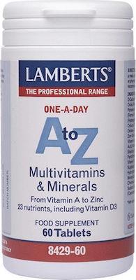 Lamberts A to Z Multivitamins Πολυβιταμίνη 60 Ταμπλέτες