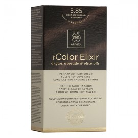 Apivita My Color Elixir 5.85 Βαφή Μαλλιών Καστανό Ανοιχτό Περλέ Μαονί
