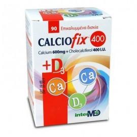 Intermed Calciofix 400 + D3, Συμπλήρωμα Ασβεστίου 90 Δισκία