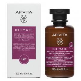 Apivita Intimate Lady gentle foam cleanser aloe & propolis 200 ml