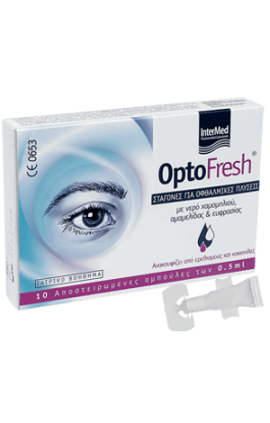 Intermed Optofresh Eye Wash Drops 10 amp x 0.5 ml