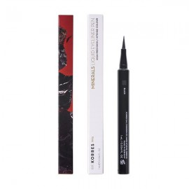 Korres Minerals Liquid Eyeliner Pen 01 Black High Precision Intense Colour 1 ml