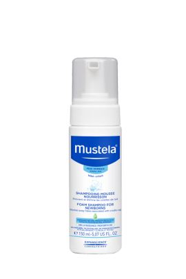 MUSTELA SHAMPOOING MOUSSE NOURRIS.150ML