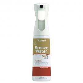 Frezyderm Bronze Water Color Mist, Σπρέι που Χρωματίζει το Πρόσωπο & Σώμα Μπρονζέ, 300ml