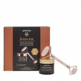 Apivita Promo Queen Bee Rich Texture Cream 50 ml & Δώρο Face Roller