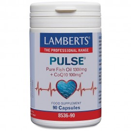 Lamberts Pulse Pure Fish Oil 1300mg & CoQ10 100mg 90caps