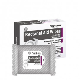 Frezyderm Rectanal Aid Wipes 20τμχ - Καθημερινός Καθαρισμός & Ανακούφιση Των Συμπτωμάτων Των Αιμορροϊδων