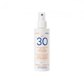 Korres Yoghurt Γιαούρτι Αντηλιακό Γαλάκτωμα Spray SPF30 150 ml