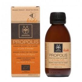 Apivita Propolis Kids Βιολογικό σιρόπι για το λαιμό μέλι & θυμάρι 150 ml