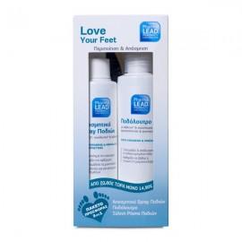 Pharmalead Promo Pack Foot Περιποιηση & Αποσμηση, Αποσμητικό Spray ποδιών 100ml & Ποδόλουτρο 150ml